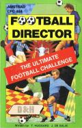 Football Director Amstrad CPC Front Cover