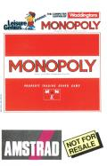 Monopoly Amstrad CPC Front Cover