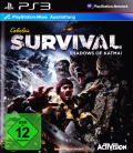 Cabela's Survival: Shadows of Katmai PlayStation 3 Front Cover