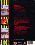 Indianapolis 500: The Simulation DOS Back Cover