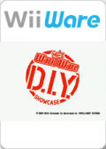 WarioWare: D.I.Y. Showcase Wii Front Cover