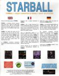 Starball DOS Back Cover