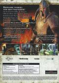 The Elder Scrolls IV: Oblivion Windows Other Cardboard Sleeve - Back - Disc 1