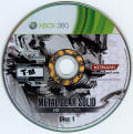 Metal Gear Solid HD Collection Xbox 360 Media Disc 1/2