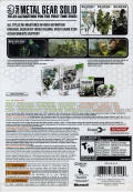 Metal Gear Solid HD Collection (Limited Edition) Xbox 360 Back Cover