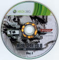 Metal Gear Solid HD Collection (Limited Edition) Xbox 360 Media Disc 2/2