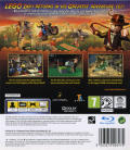 LEGO Indiana Jones 2: The Adventure Continues  PlayStation 3 Back Cover