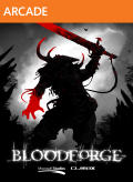 Bloodforge Xbox 360 Front Cover