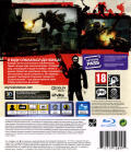 Resistance 3 PlayStation 3 Back Cover