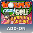 Worms Crazy Golf: Carnival Course PlayStation 3 Front Cover
