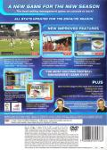 LMA Manager 2005 PlayStation 2 Back Cover
