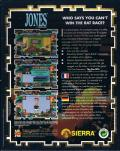 Jones in the Fast Lane DOS Back Cover