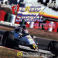 F1 Circus Special: Pole to Win TurboGrafx CD Front Cover