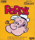 Popeye Game Boy Front Cover