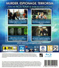 NCIS PlayStation 3 Back Cover