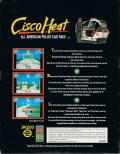 Cisco Heat: All American Police Car Race DOS Back Cover