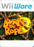 Burn the Rope Wii Front Cover