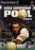 World Championship Pool 2004 PlayStation 2 Front Cover