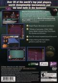 World Championship Pool 2004 PlayStation 2 Back Cover