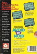 Avoid the Noid Commodore 64 Back Cover