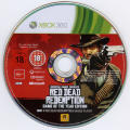 Red Dead Redemption: Game of the Year Edition Xbox 360 Media Red Dead Redemption disc