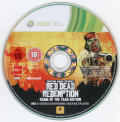 Red Dead Redemption: Game of the Year Edition Xbox 360 Media Red Dead Redemption: Undead Nightmare disc