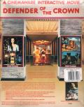Defender of the Crown Atari ST Back Cover