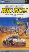 Jaleco Rally: Big Run - The Supreme 4WD Challenge SNES Front Cover