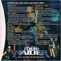Lara Croft Tomb Raider: The Angel of Darkness Windows Inside Cover right