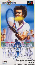 International Tennis Tour SNES Front Cover