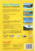 Sea Planes: Adventures for FS2002/2004 Windows Back Cover