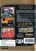Leisure Suit Larry Collection Windows Back Cover