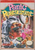 Panic Restaurant NES Front Cover