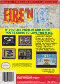 Fire 'n Ice NES Back Cover