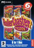 RollerCoaster Tycoon 6 Pack Windows Front Cover