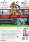 Assassin's Creed III Xbox 360 Back Cover