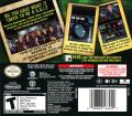 CSI: Crime Scene Investigation - Unsolved! Nintendo DS Back Cover