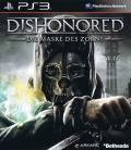 Dishonored PlayStation 3 Inside Cover Front of Flip-Cover without USK Logo