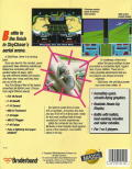 SkyChase DOS Back Cover