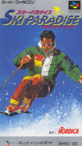 Tommy Moe's Winter Extreme: Skiing & Snowboarding SNES Front Cover