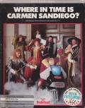 Where in Time is Carmen Sandiego? Apple II Front Cover