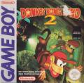 Donkey Kong Land 2 Game Boy Front Cover