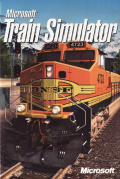 Microsoft Train Simulator Windows Other CD Holder - Front