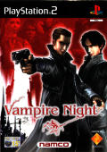 Vampire Night PlayStation 2 Front Cover
