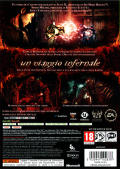 Shadows of the Damned Xbox 360 Back Cover