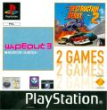 WipEout 3 / Destruction Derby 2 PlayStation Front Cover