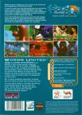 Worms United DOS Back Cover