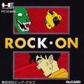 Rock-On TurboGrafx-16 Front Cover