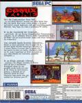 Comix Zone Windows Back Cover