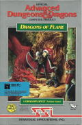 Dragons of Flame DOS Front Cover